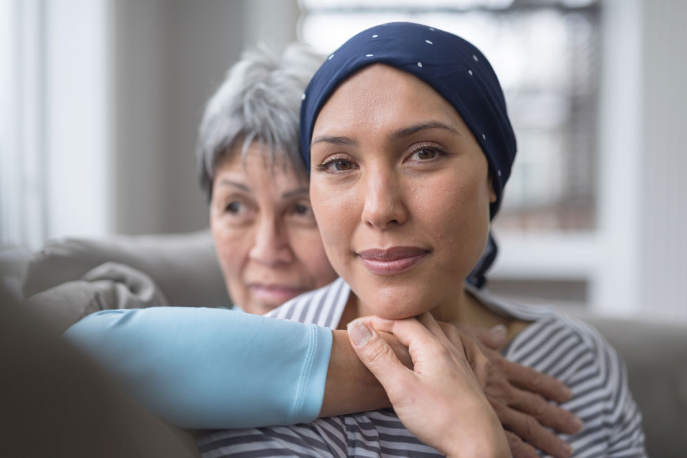 talking to daughter about cancer