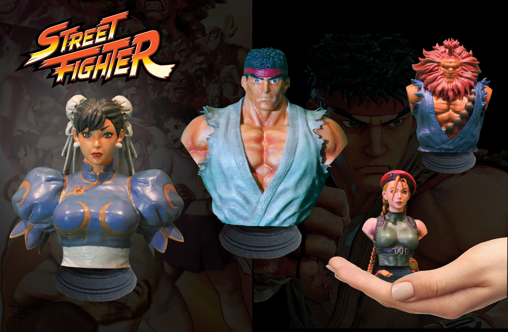 New 'Street Fighter' Collectibles K.O. the Competition