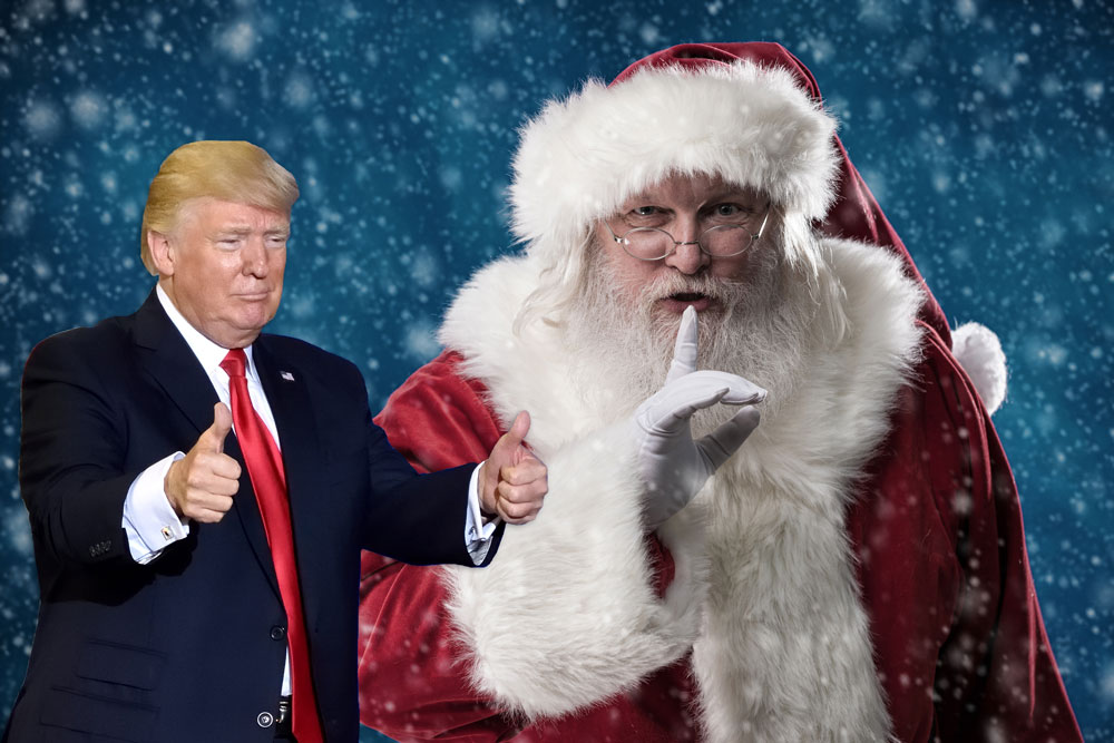 Trump Administration Wanted Santa Claus Actors to Promote COVID Vaccine